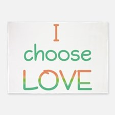 Choose Love 5'x7'Area Rug