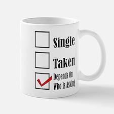 Single ready to mingle Mugs