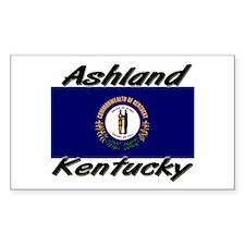 Ashland Kentucky Rectangle Decal