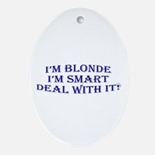 Educated girls Oval Ornament