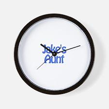 Jake's Aunt Wall Clock