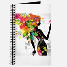 Psychedelic woman Journal