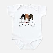 Nothin' Butt Pit Bulls Infant Bodysuit