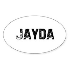 Jayda Oval Decal