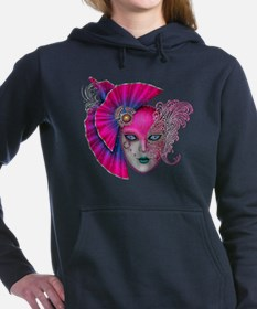 Unique Mardi gras Women's Hooded Sweatshirt
