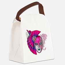 Cute Mardi gras Canvas Lunch Bag