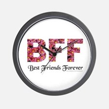 BFF BEST FRIENDS FOREVER Wall Clock