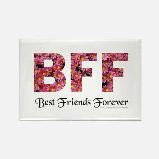BFF BEST FRIENDS FOREVER Rectangle Magnet