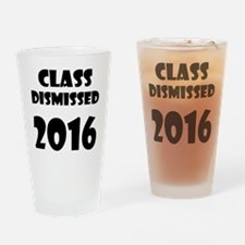 Class Dismissed 2016 Drinking Glass