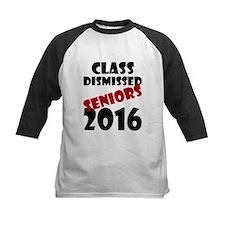 Class Dismissed Seniors 2016 Baseball Jersey