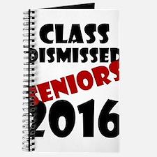 Class Dismissed Seniors 2016 Journal