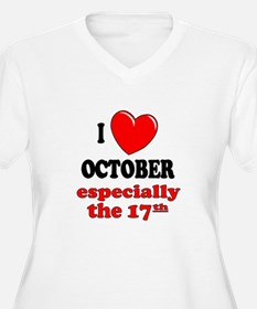 October 17th T-Shirt