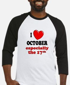 October 17th Baseball Jersey