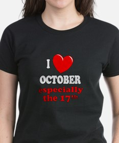 October 17th Tee