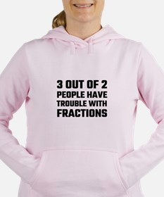 3 Out Of 2 People Have T Women's Hooded Sweatshirt
