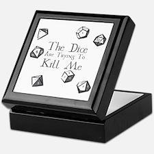 Cute Dice Keepsake Box