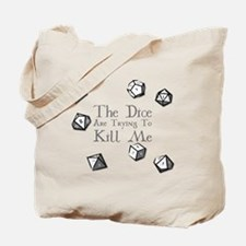 Unique Dice Tote Bag