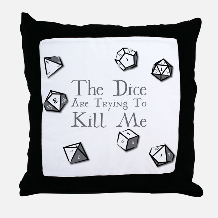 Cute Role playing Throw Pillow