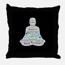 Cool Words Throw Pillow