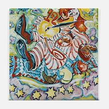 circus art Tile Coaster