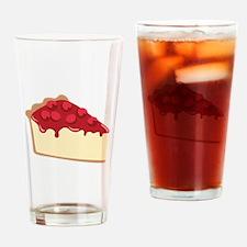 Cherry Cheesecake Drinking Glass