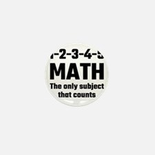 Math The Only Subject That C Mini Button (10 pack)