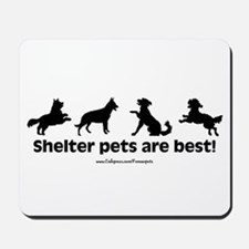 Shelter Dogs Mousepad