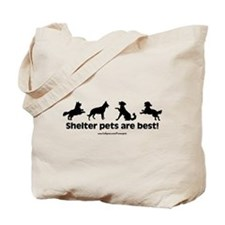 Shelter Dogs Tote Bag