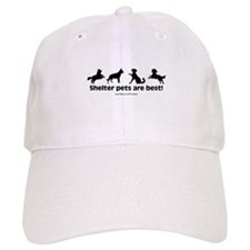 Shelter Dogs Baseball Cap