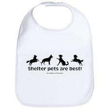 Shelter Dogs Bib