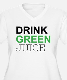 Drink Green Juice Plus Size T-Shirt