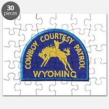Cowboy Courtesy Patrol Wyoming Puzzle