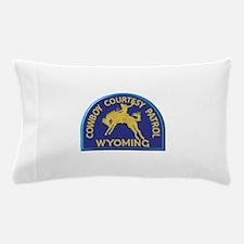 Cowboy Courtesy Patrol Wyoming Pillow Case