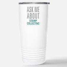 Stamp Collecting Travel Mug