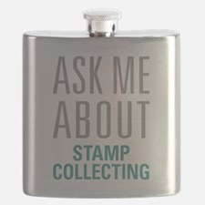 Stamp Collecting Flask