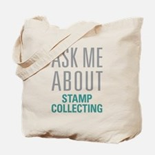 Stamp Collecting Tote Bag