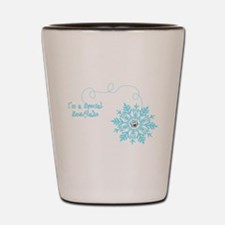 Special Snowflake Shot Glass