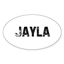 Jayla Oval Decal