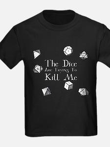 Dice-White T-Shirt