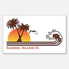 Sanibel Island FL Sticker (Rectangle)