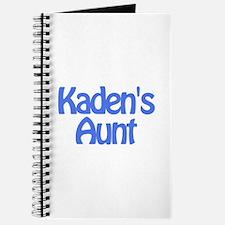 Kaden's Aunt Journal