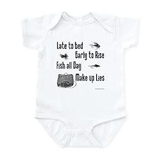 FlyFishing Infant Bodysuit