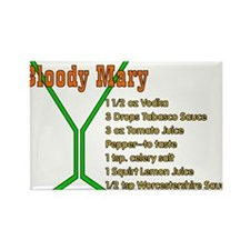 Bloody Mary Rectangle Magnet
