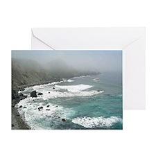 San Martin Rock Greeting Card