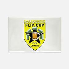 California Flip Cup Rectangle Magnet