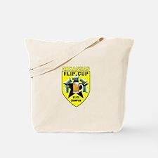 Arkansas Flip Cup State Champ Tote Bag