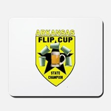 Arkansas Flip Cup State Champ Mousepad