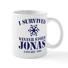 Survived Winter Storm Jonas Mugs