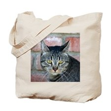 Cat with an attitude Tote Bag
