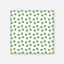 "CUP PATTERN Square Sticker 3"" x 3"""